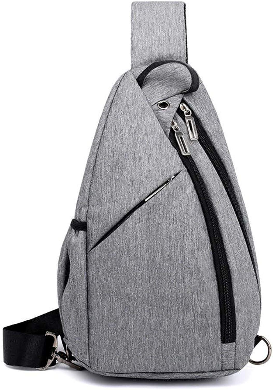 XHYYQX Brustgurt Tasche Männer Outdoor Freizeitsportarten Verstellbarer Bügel Tasche Einer Umhängetasche Tragbare Tasche B07Q56W5DZ  Neue Produkte im Jahr 2019