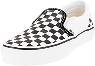 Kids Classic Slip-On (Checkerboard) Black/True White...