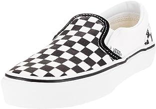 checkered vans girls size 4