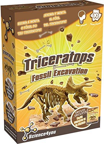 Science4you–Spielzeug Wissenschaft und Bildung Triceratops