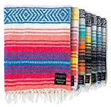 Authentic Mexican Blanket - Park Blanket,...