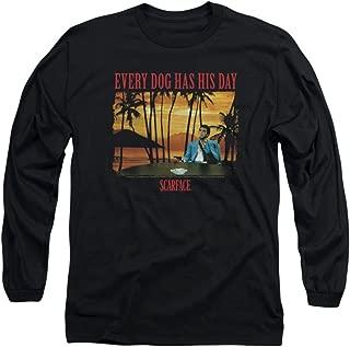 Scarface Drug Crime Drama Movie 1983 A Dog Day Adult Long Sleeve T-Shirt