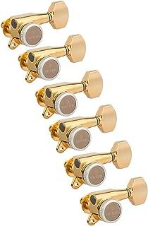 Gotoh Magnum Lock-Trad 6-In-Line Guitar Tuners, Gold