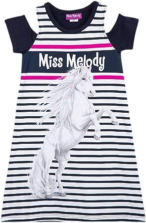 Miss Melody Niña Vestito, Azul