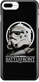iPhone 7 Plus/7s Plus/8 Plus Case, Star Wars Battlefront 2 Case for Apple iPhone 7 Plus/7s Plus/8 Plus, Millennium Falcon Star Wars iPhone Case (iPhone 7 Plus/7s Plus/8 Plus Case - Black)