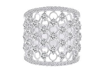 IGI Certified 1.78 Carat (cttw) Round Shape White Natural Diamond Vintage Style Ring 18k Solid Gold