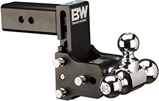 B&W Trailer Hitches Tow & Stow 5in Drop 4.5in Rise 1 7/8x2x2 5/16in Triple Ball Size Hitch