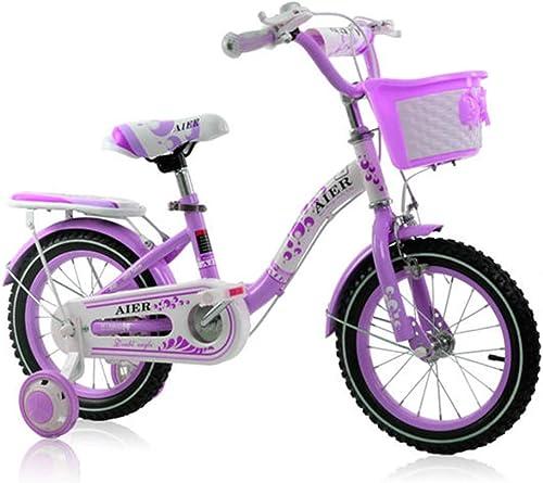 precioso BaoKangShop Bicicletas Bicicleta para Niños de 2 a 10 10 10 años. Bicicleta Princesa de 12 14 16 Pulgadas con Pedal para niña. Libre Ciclismo  la calidad primero los consumidores primero