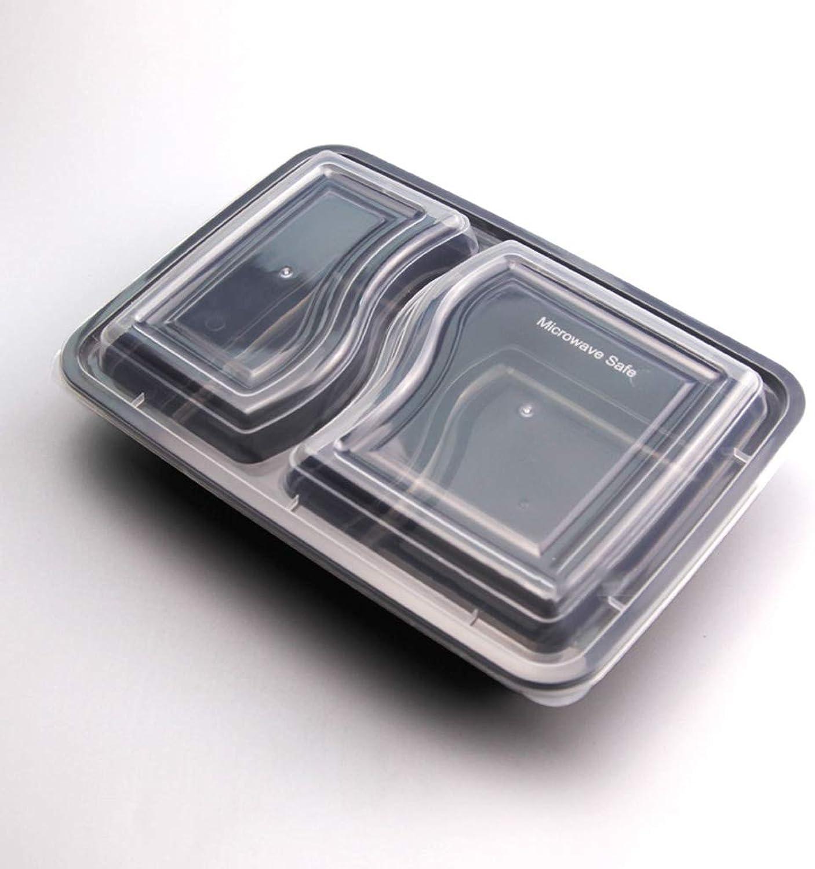 Bol - Boîte d'emballage en plastique jetable pour lunch-Box-2 Interval Sushi Sashimi pour pates au riz tableware