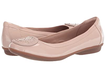 Clarks Gracelin Lola (Blush Synthetic Patent) Women