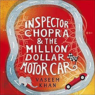 Inspector Chopra and the Million-Dollar Motor Car cover art