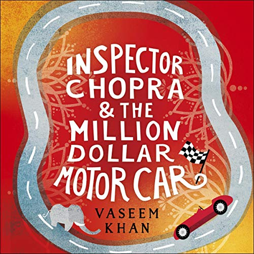 Inspector Chopra and the Million-Dollar Motor Car audiobook cover art