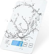 Diyife Balance de Cuisine Électronique 15kg, Balances Alimentaires, Balance de Précision, Prime Élégant Panneau en Verre T...
