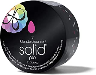 BEAUTYBLENDER Charcoal Infused BLENDERCLEANSER Solid Pro for Cleaning Makeup Sponges & Brushes, 5.3 ounces