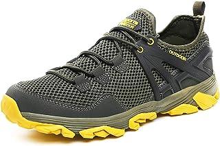 Men Hiking Shoes Lightweight Non-Slip Outdoor Sneaker for Walking Trekking Camping Trail Running Shoe