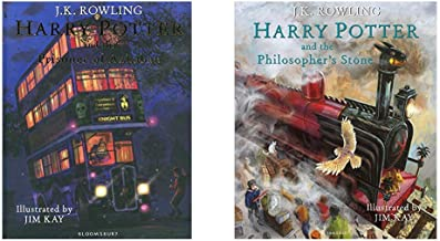 Harry Potter And The Prisoner Of Azkaban: Illustrated Edition + Harry Potter And The Philosopher'S Stone: Illustrated Edit...