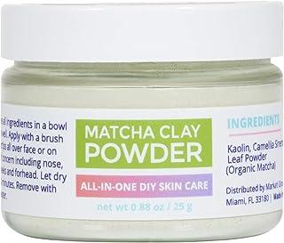 Sponsored Ad - 23 SKIN Matcha Green Tea Powder Face Mask with Kaolin Clay - Organic Anti-Aging Antioxidants + DIY Facial S...