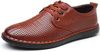 [インボラ] ビジネスシューズ 革靴 メンズ メッシュ 夏 サンダル レースアップ フォーマル カジュアル 通気性抜群