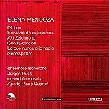 Mendoza: Diptico, Breviario De Espejismos, Akt Zeichnung, Contra-Diccion... / Ruck, Ensemble Recherche, Ensemble Mosaik - Poppe