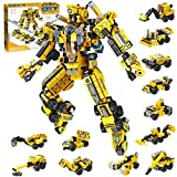 STEM Building Toys for Kids 25-in-1 Engineering Building Bricks Construction Vehicles Kit...