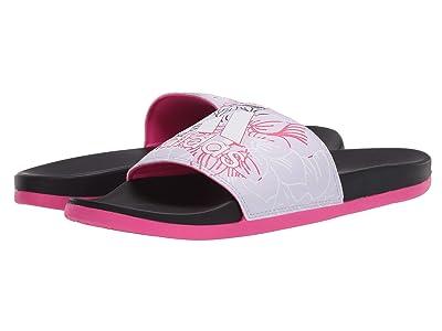 adidas Adilette Comfort (Purple Tint/Footwear White/Shock Pink) Women