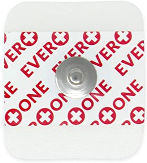 EverOne Multi-Purpose Ecg Monitoring Electrode, 100Count (2 Bags Of 50)