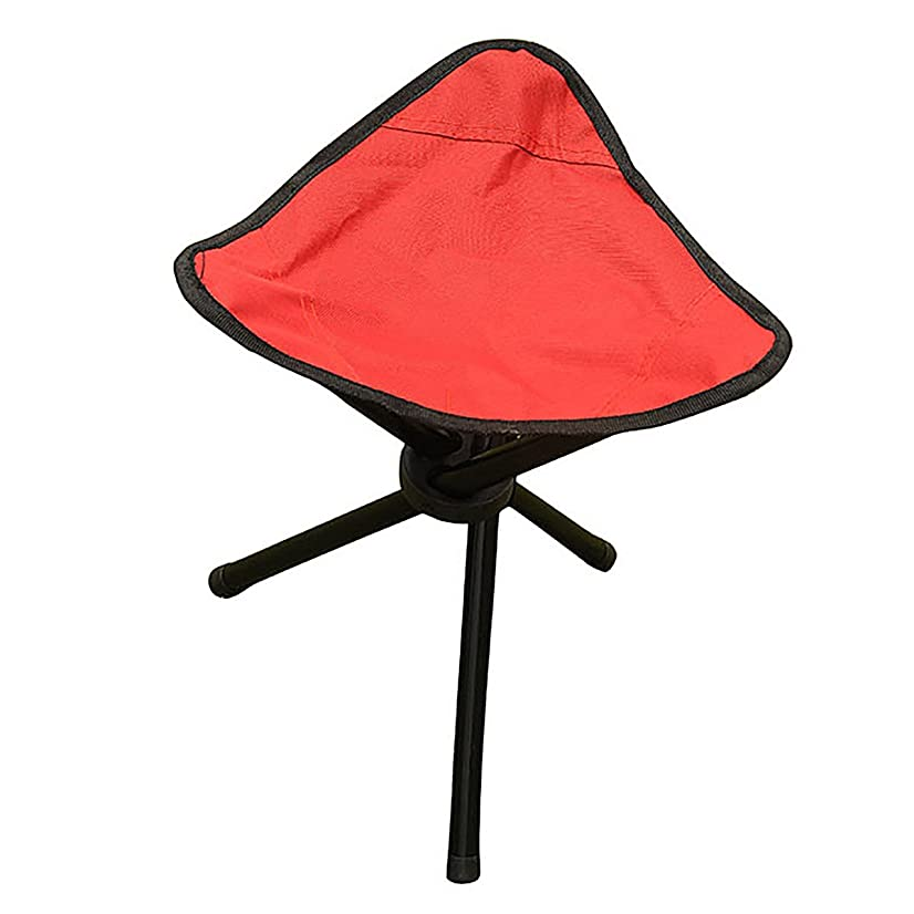 BS Bluesnow Portable Tri-Leg 3-Legged Stool for Outdoor Camping, Fishing, Hiking, Mountaineering
