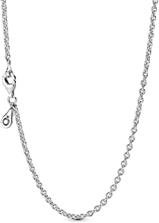 Pandora Women's 925 Sterling Silver Chain Necklace - 590200-45