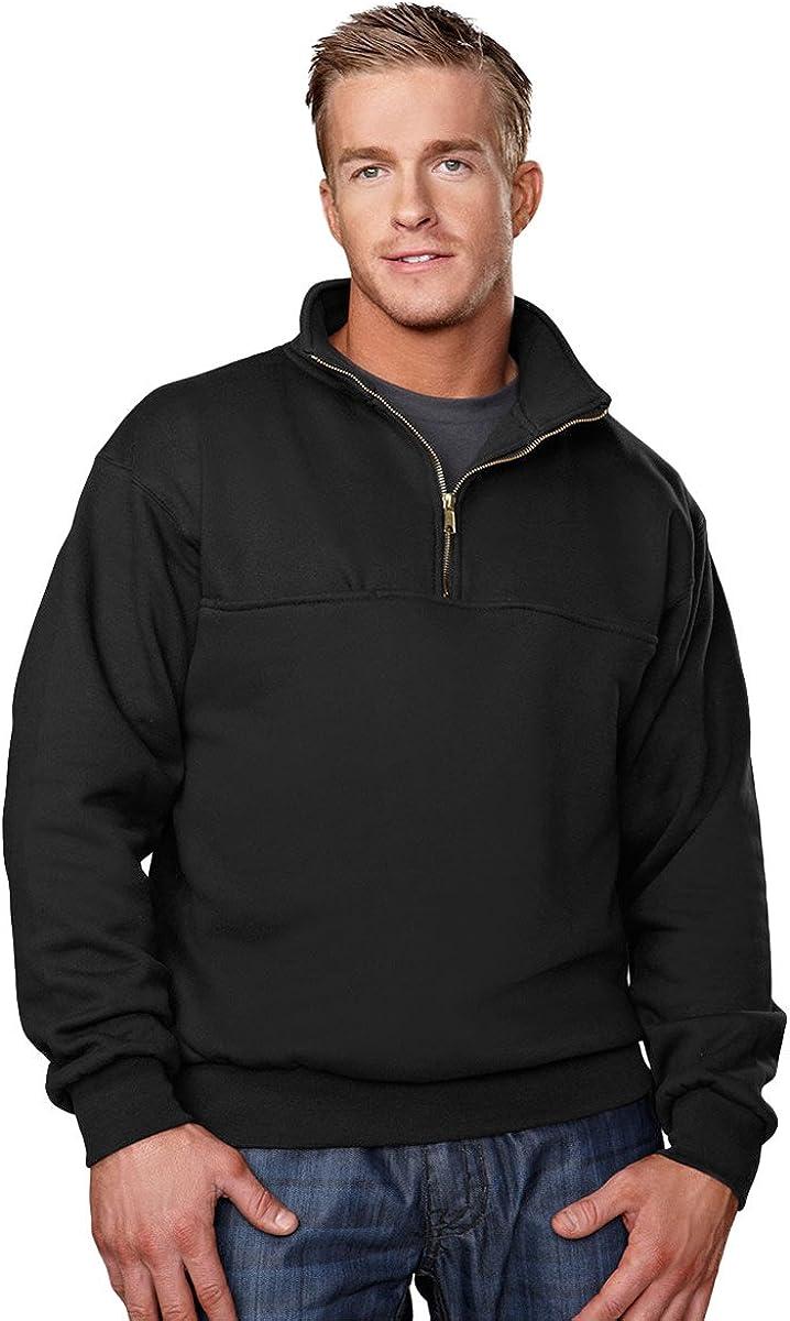 Big Mens 12 oz. 1/4 Zip Pullover Sweatshirt