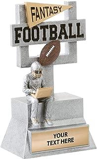 Crown Awards Fantasy Football Goal Post Sculpture Trophy - 7