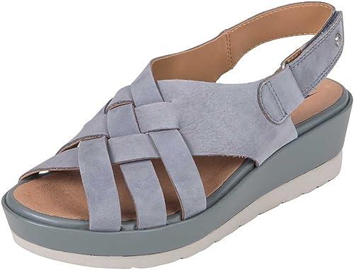 Earth chaussures SunfFaibleer Wohommes Seaport bleu 8.5 Medium US