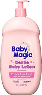 Baby Magic Gentle Baby Lotion Original Baby Scent 30 fl oz - 2 Pack