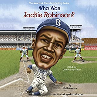 Who Was Jackie Robinson? audiobook cover art