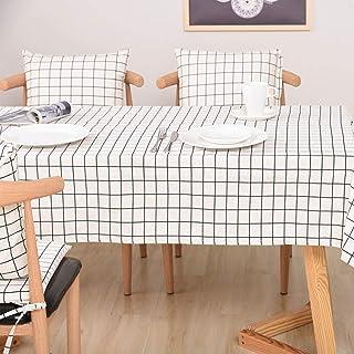 LMWB Bordsskydd, bordsduk, tyg bomull och linne enkel soffbord matbord bordsduk rund bordsduk fyrkantig rektangulär bordsd...