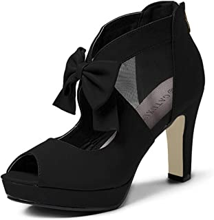 Best peep toe bow heels Reviews