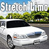 Stretch Limo Accelerates Quickly to High Speed & Skids into 180 Degree Turn, From Rear Tires
