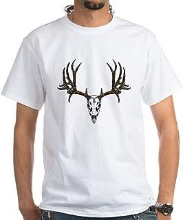 CafePress European Mount Mule 100% Cotton T-Shirt, White