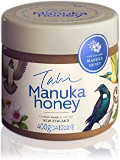 Manuka Honey from New Zealand, Eco-friendly, Bee Ethical, Raw and Unfiltered, no Added Sugar, Water or Chemicals 400gm (14...
