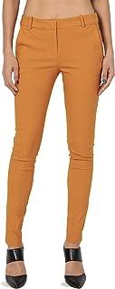 TheMogan Everyday Long & Lean Mid Rise Slant Pocket Ankle Skinny Trouser Pants