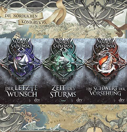 Vorgeschichte zur Hexer-Saga Band 1-3 plus exklusive Landkarte
