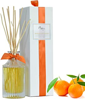 Manu Home REVITALIZE Citrus Reed Diffuser Set ~ A Refreshing Blend of Sage and Mandarin..