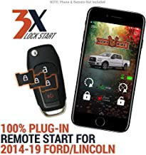 Plug in Smartphone Control (1st year included!) & Remote Start Kit for 2014-2019 Ford & Lincoln Vehicles - F-150 | F-250 | F-350 | Fusion | Continental | Expedition | MKC | MKZ | Nautilus | Navigator