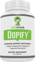 Dopify Dopamine Supplement by VitaMonk - Dopamine Booster with Uridine Monophosphate, Mucuna Pruriens, L-Theanine, Tyrosin...