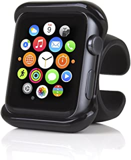 Satechi Apple Watch Grip Mount for Car Steering Wheel, Bike/Motorcycle Handlebar - Compatible with Apple Watch Series 1, 2 & 3 (38 mm)
