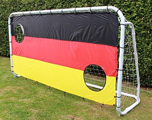 Calcio per con rete 300x 160cm cancello porta calcio per parete da calcio resistente alle intemperie
