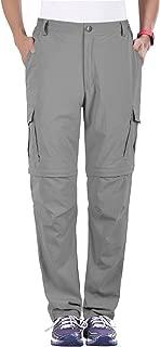 Women's Outdoor Water-Resistant Quick Dry Convertible Cargo Pants