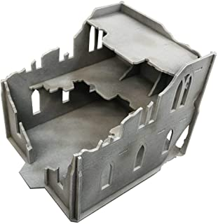 Frontline Gaming - ITC Terrain - Gothic Ruins: Mansion - Tabletop Miniatures Wargame 28mm Scenery Terrain