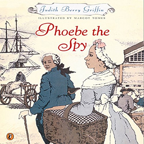 Phoebe the Spy audiobook cover art