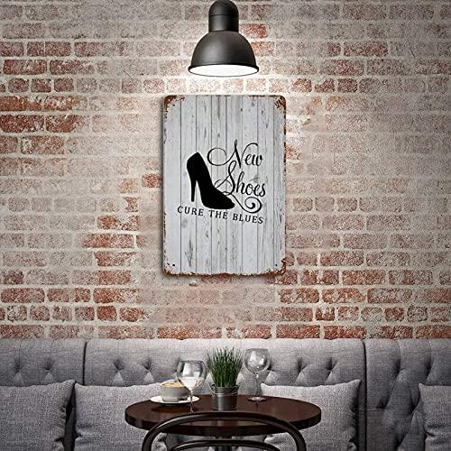 by Unbranded Art pour femmes, chaussures, chaussures de fille, shopping, nouvelles chaussures, vêtements, chaussures, art amusant, art vintage, plaque en métal pour café, bar, pub, bière, club