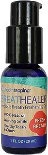 Breathealer Mint Mouth Freshener (1 FL OZ) - Dentist Formulated Mouth Gel Freshener Improves Bad Breath Instead of Covering It Up